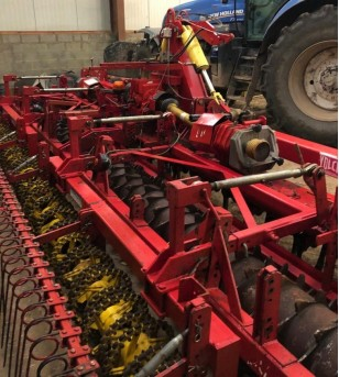 Herse rotative Lely 6m