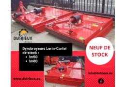 Gyrobroyeurs Lerin-Cartel de stock
